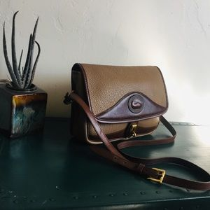 Rare vintage Dooney & Bourke All Weather Leather